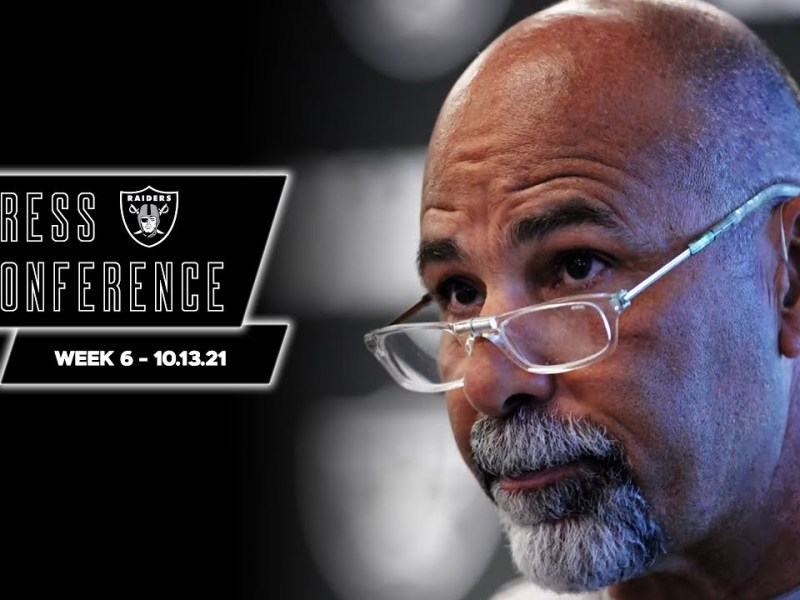 Coach Bisaccia, Carr, Waller and Crosby Presser – 10.13.21 | Raiders | NFL