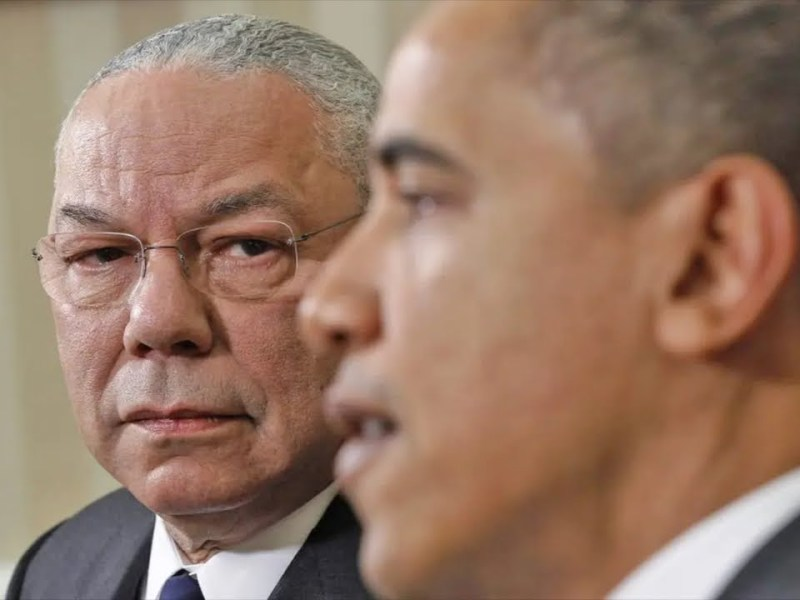 Statement from President Barack Obama on the Passing of General Colin Powell