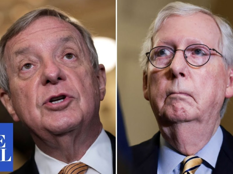 Durbin BLASTS McConnell on debt ceiling: 'We've reached the limit of our patience'