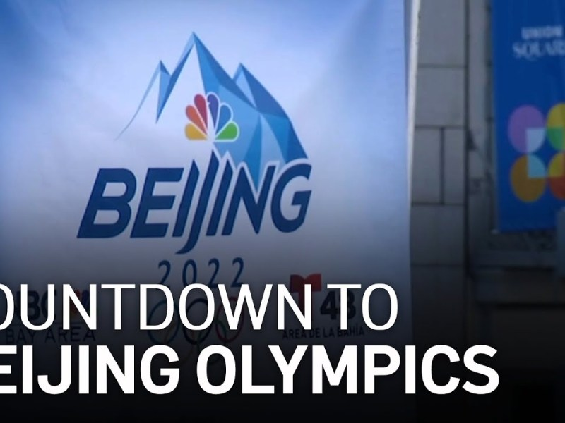 Event Marks Beginning of 100-Day Countdown to 2022 Beijing Olympics