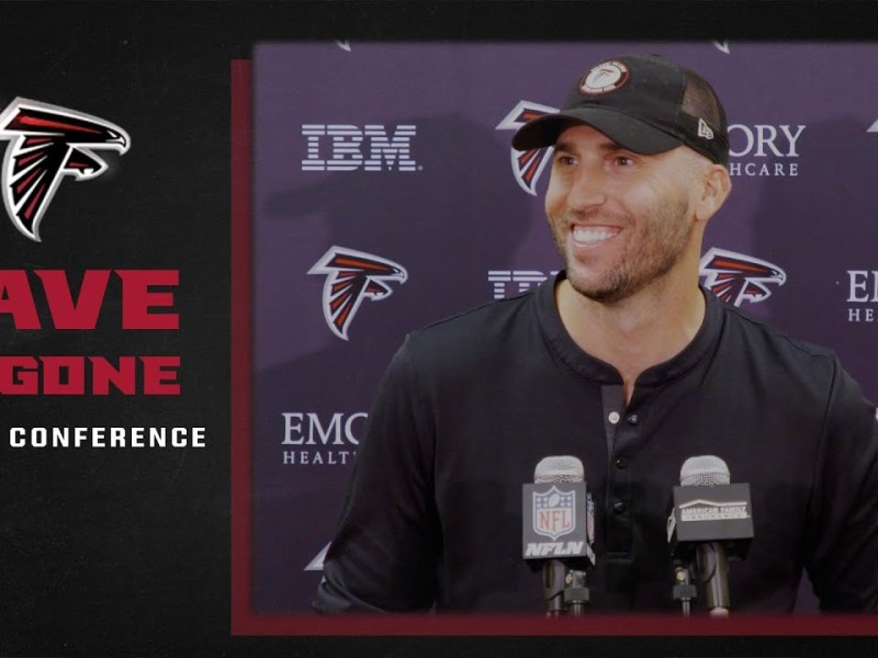 Experience playing in London   Dave Ragone press conference   Atlanta Falcons   NFL