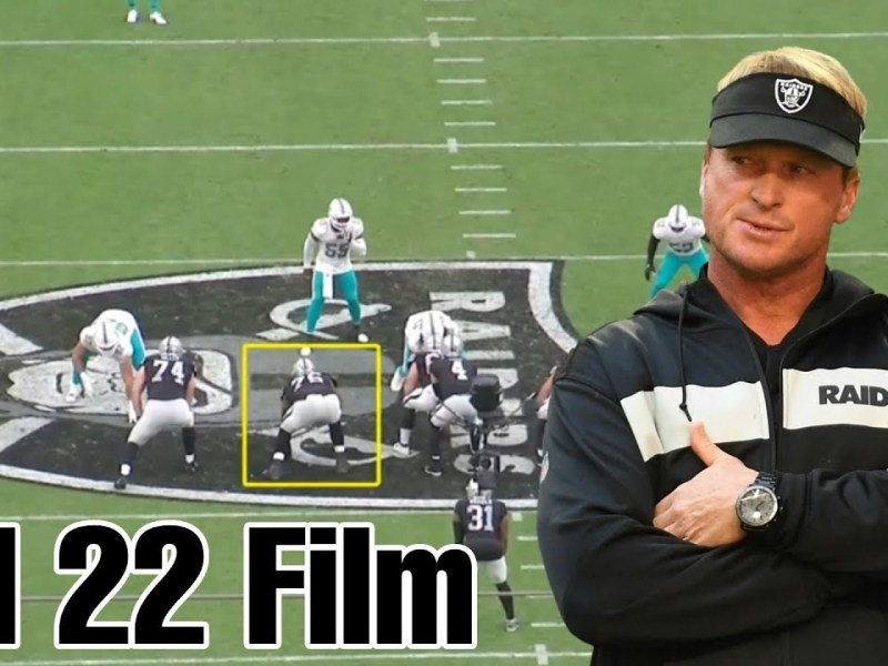 Film Study: Raiders Offensive Line does a Great Job vs Dolphins