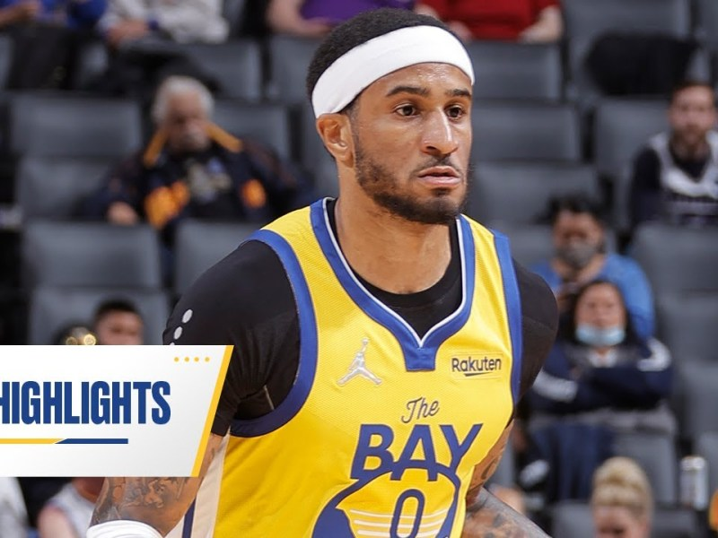 Gary Payton II Provides Spark Off Bench in Golden State Warriors' Win   Oct. 24, 2021