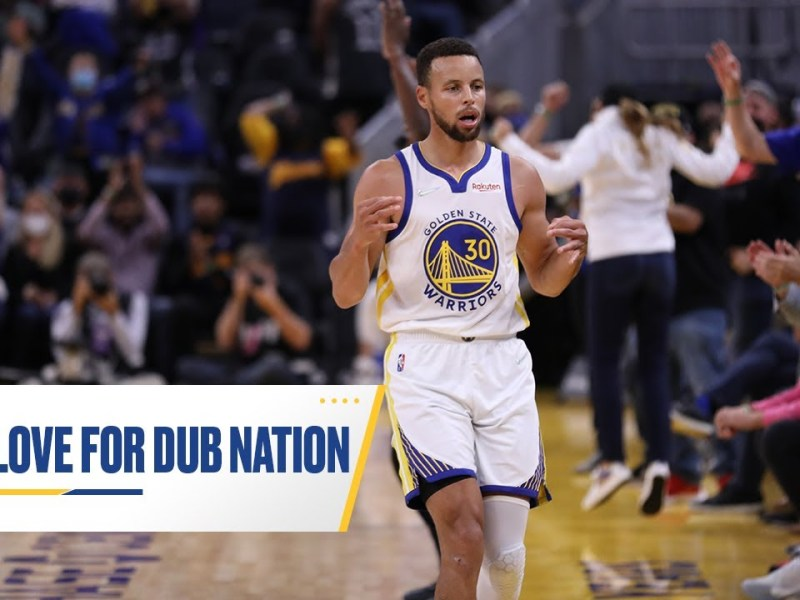 Golden State Warriors Have Love for Dub Nation – Warriors News