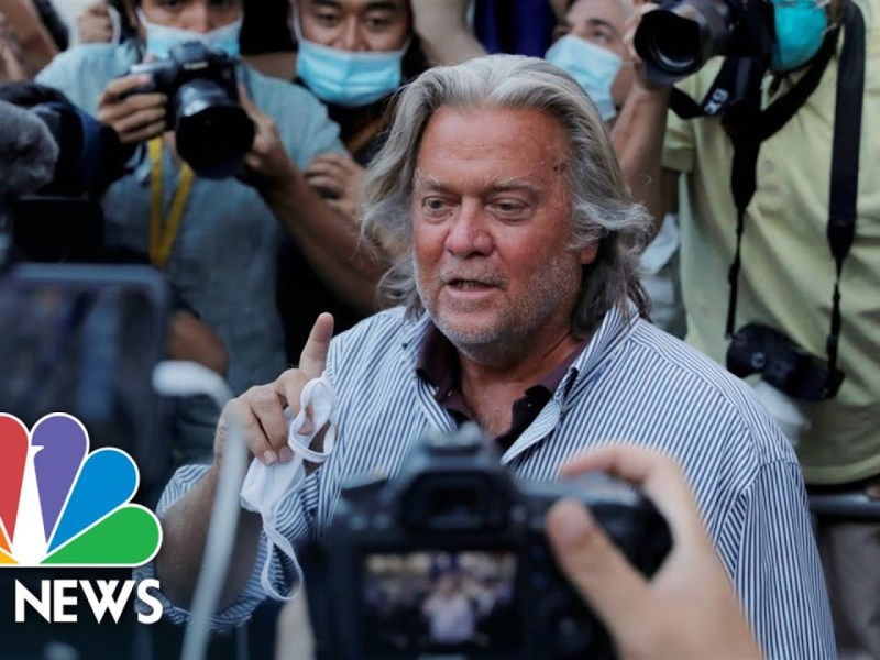 House To Vote On Holding Steve Bannon In Contempt Of Jan. 6th Investigation