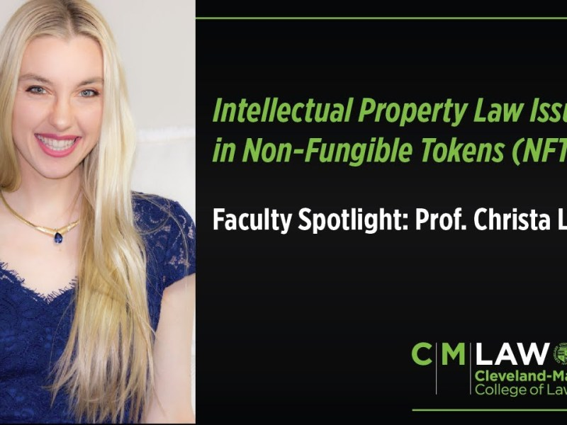 Intellectual Property Law Issues in Non Fungible Tokens (NFTs)