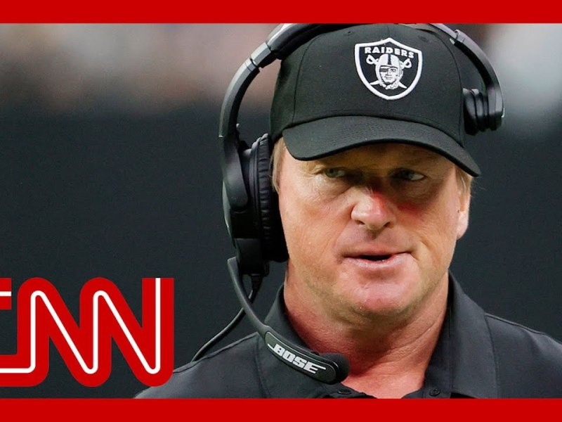 Jon Gruden resigns as Las Vegas Raiders head coach after offensive emails revealed