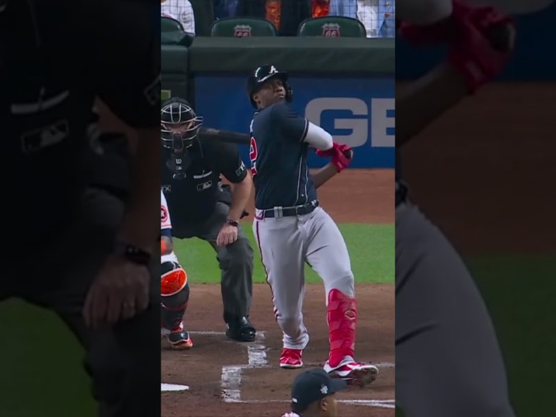 Jorge Soler is the first player to hit a HR World Series Game 1 ! Astros vs Braves Game 1 #Shorts