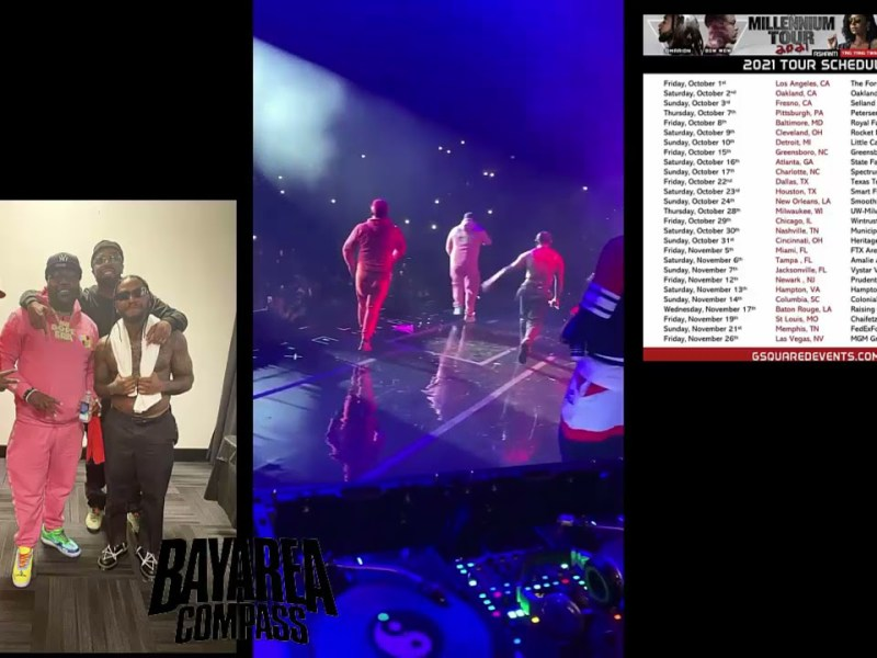 Lloyd Brings Out Mistah F.A.B During the Millennium Tour in Oakland [BayAreaCompass]