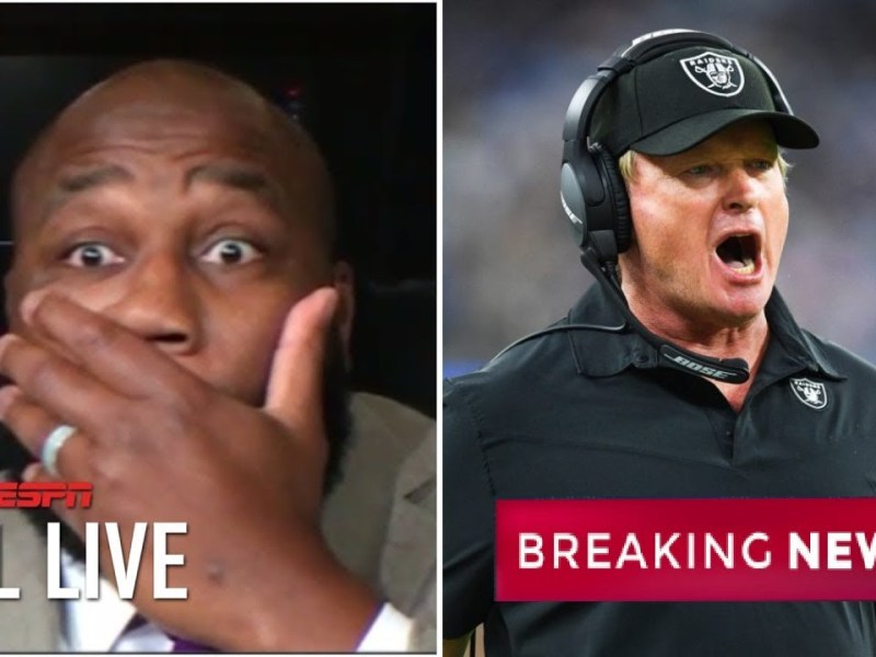 Marcus Spears Explains Why Jon Gruden is out as the head coach of the Las Vegas Raiders