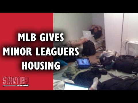 MINOR LEAGUE PLAYERS HAVE A PLACE TO LIVE || Starting 9