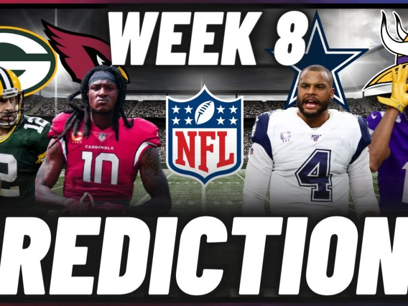 NFL Week 8 Predictions For Every Game | Picks, Predictions, & Betting Odds