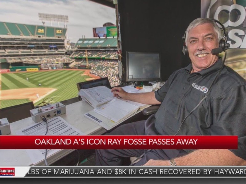 Oakland A's icon Ray Fosse passes away