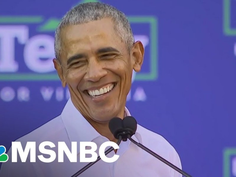 Obama: America Is At 'Turning Point,' Campaigns For Terry McAuliffe In Virginia