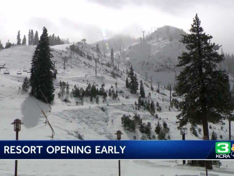 Palisades Tahoe set to open early after heavy snowfall