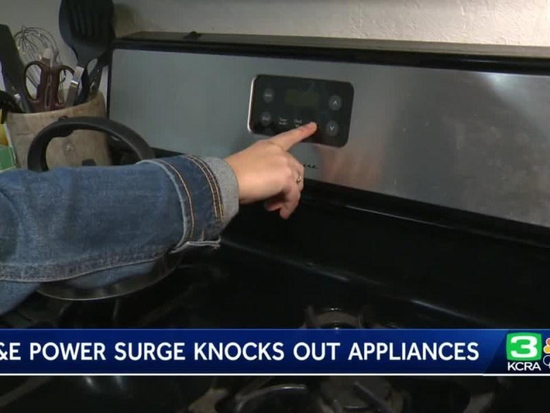 PG&E power surge leaves Lincoln residents with damaged appliances
