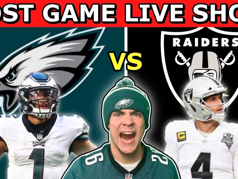 Philadelphia Eagles EMBARRASSED By Raiders: This Is The Most DISGUSTING Football I Have Ever Seen!!!
