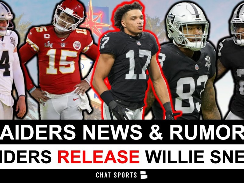 Raiders Release Willie Snead, Injury News On Josh Jacobs & Darren Waller + Carr Better Than Mahomes