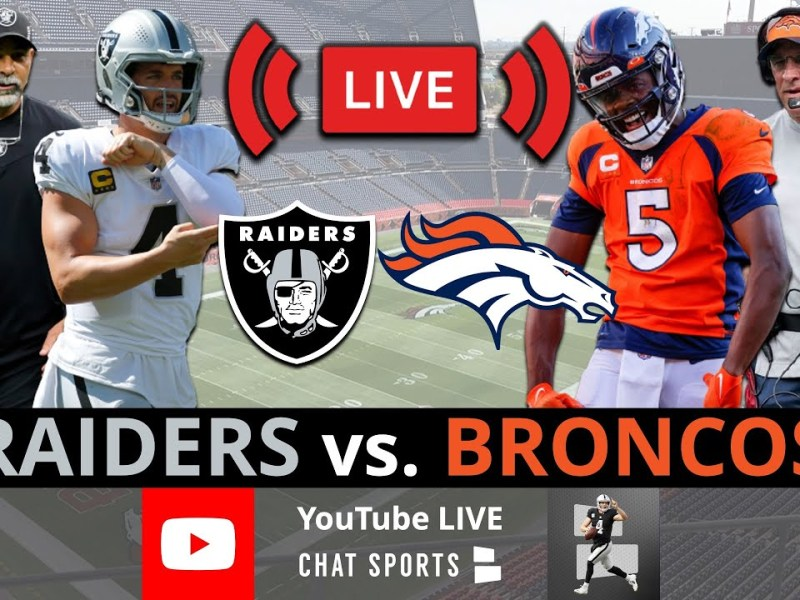 Raiders vs. Broncos Live Streaming Scoreboard, Free Play-By-Play, Highlights & Stats | NFL Week 6