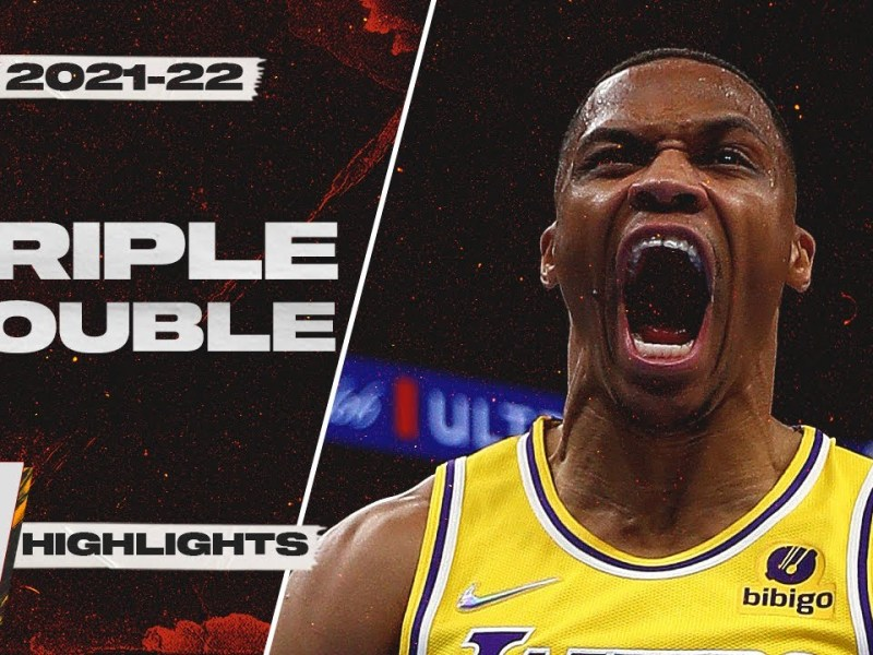 Russell Westbrook First Triple-Double as a Laker! 20 PTS 13 AST 14 REB Highlights vs OKC