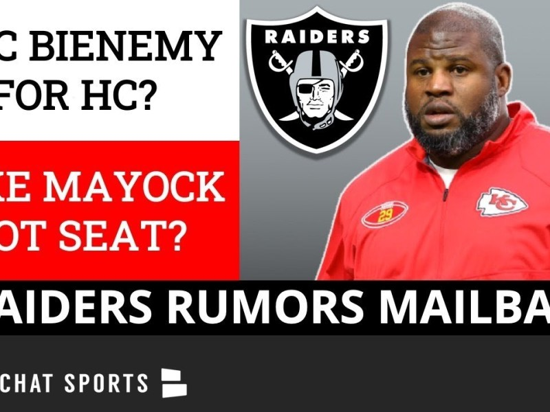 Should The Raiders Hire Eric Bieniemy & Mike Kafka In 2022? Mike Mayock Will Also Get Fired? Q&A