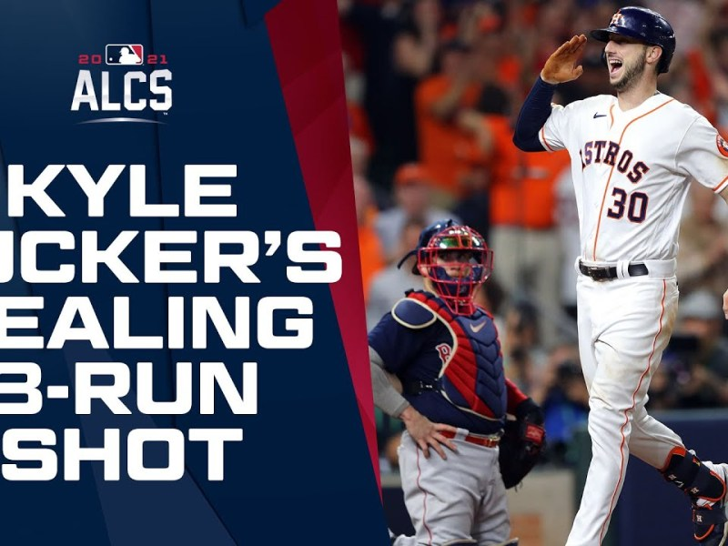 Signed, sealed, delivered. Kyle Tucker seals up ALCS for Astros with huge 3-run homer!