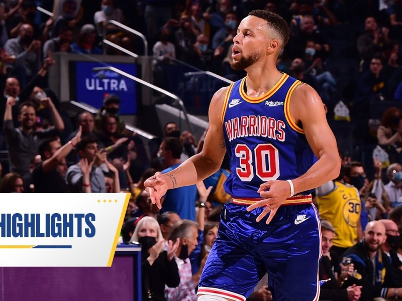 STEPHEN CURRY DROPS 25 FIRST QUARTER POINTS on 9-9 SHOOTING!   Oct. 21, 2021