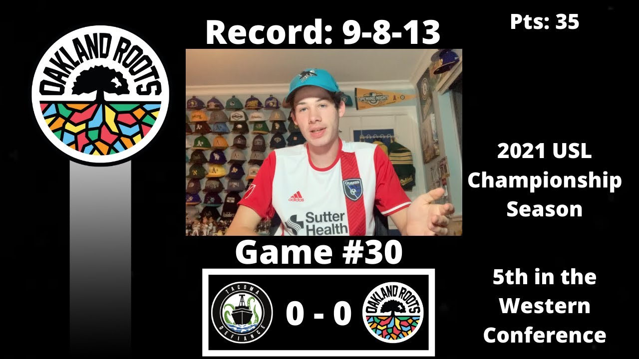 The Oakland Roots Tie Tacoma Defiance 0-0 - Blog