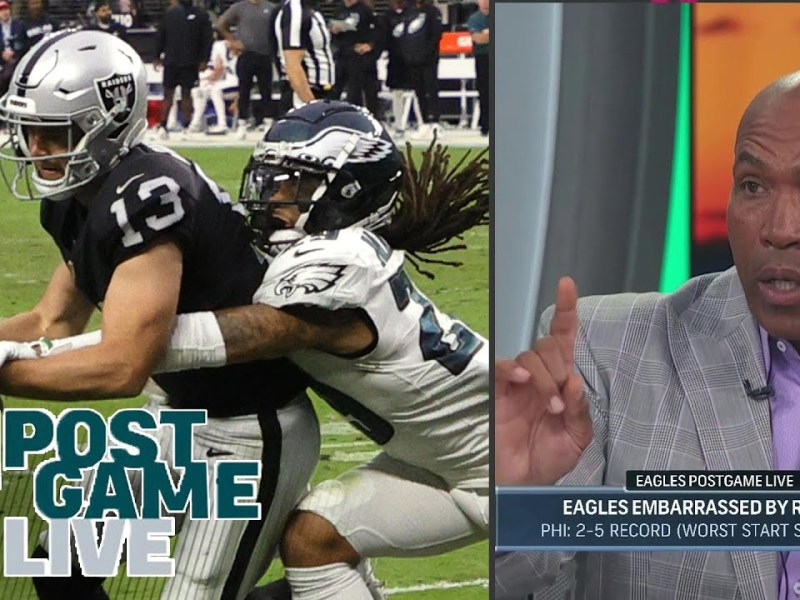 Who's to blame for the Eagles' terrible defense against the Raiders   Eagles Postgame Live
