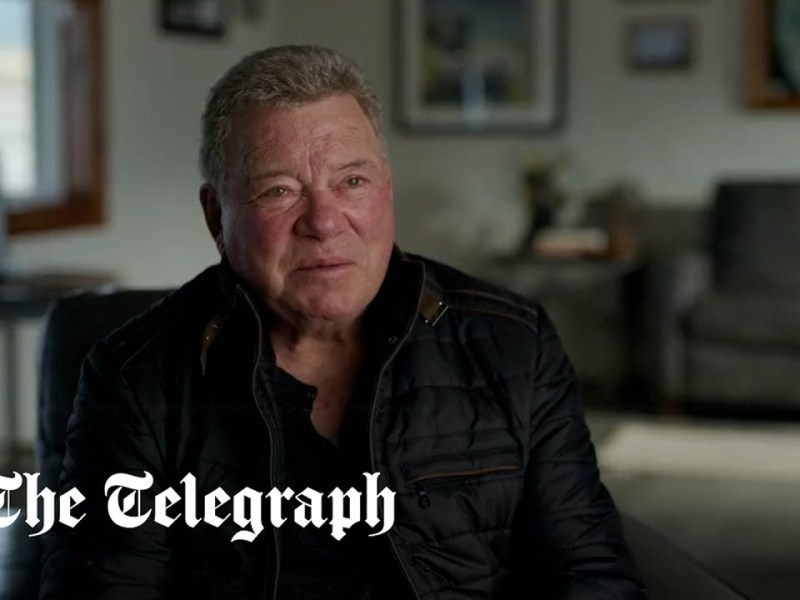 William Shatner: 'I shall be entranced by the view of space'