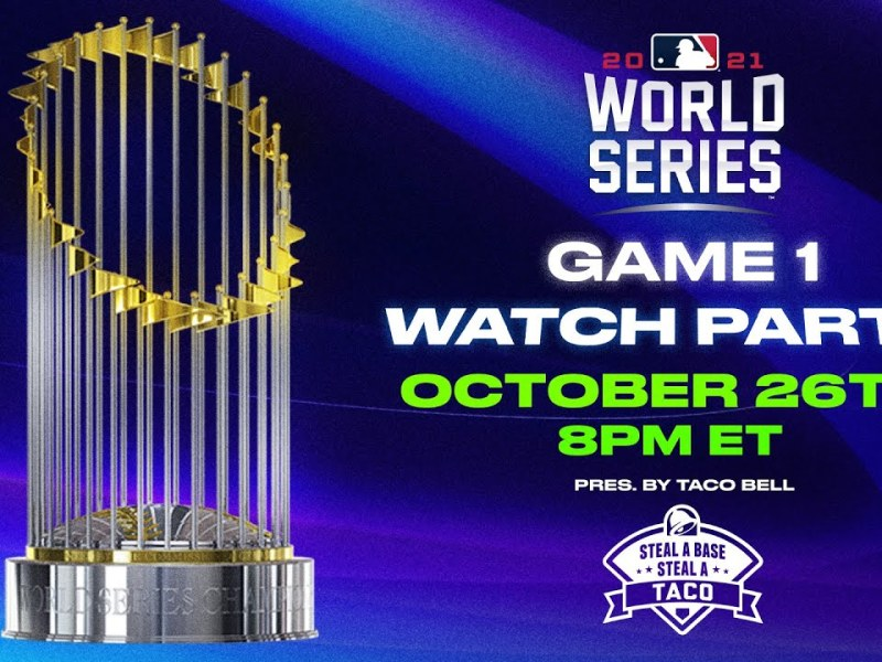 World Series Game 1 Watch Party! (Reactions, Analysis and Interviews with awesome guests!)