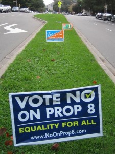 Campaign poster from the November 2008 ballot initiative.