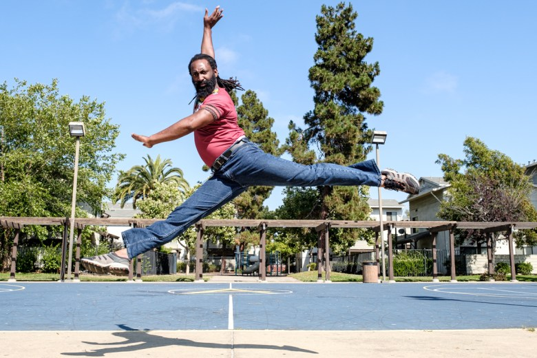 Antoine Hunter is the founder of the Oakland-based Urban Jazz Dance Company.