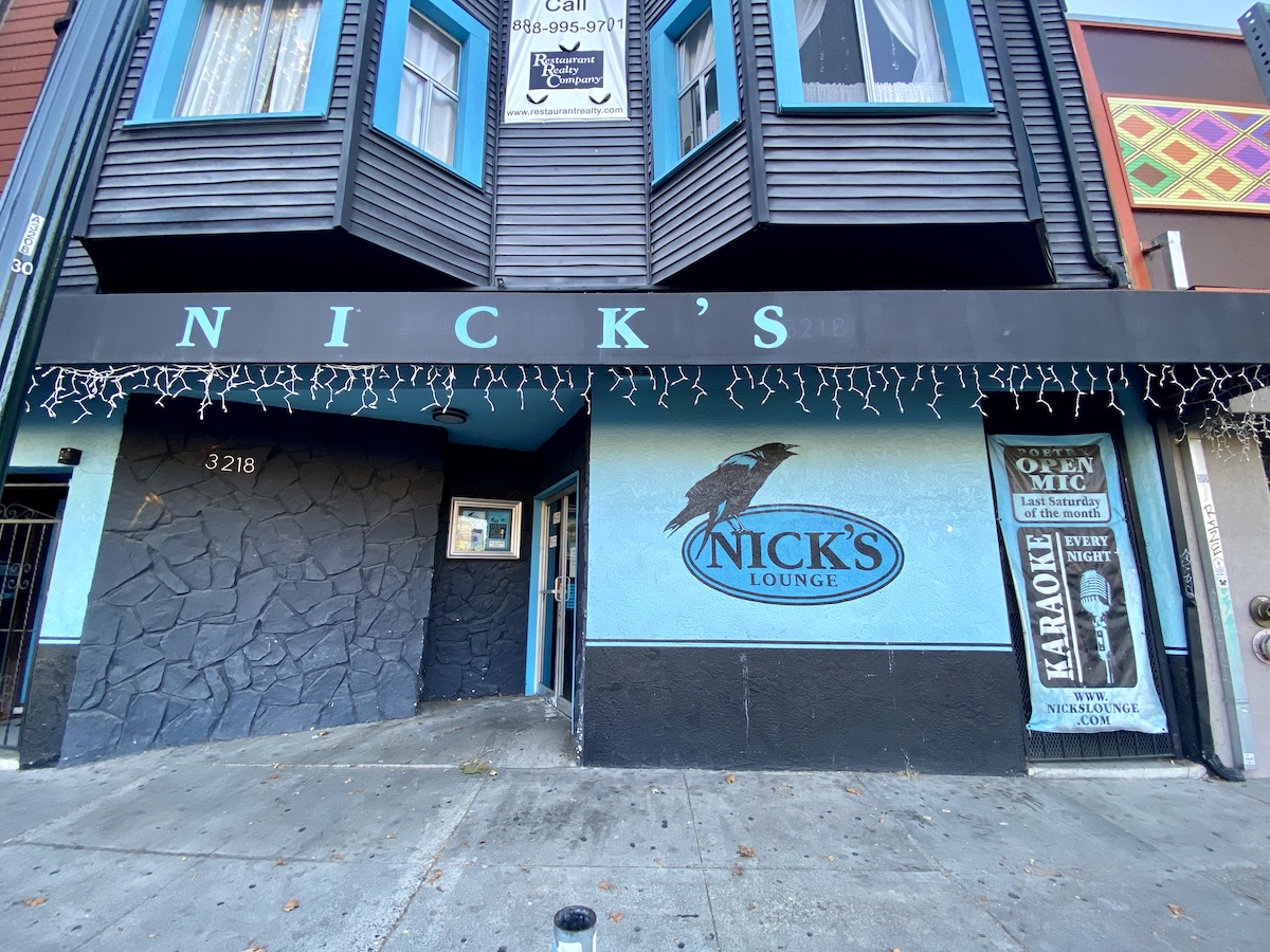Nick's Lounge in Berkeley. Photo: Sarah Han