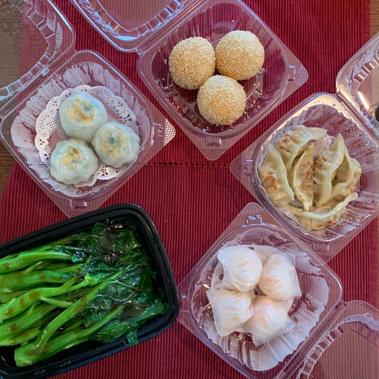Peony now offers 33 dim sum items for takeout. Photo: Anna Mindess