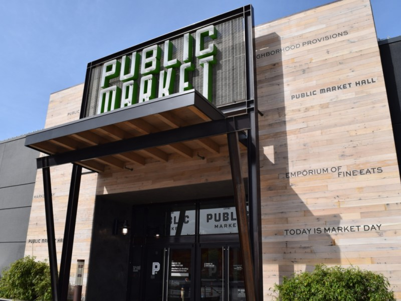 The entrance at Public Market Emeryville. Photo: Courtesy of Public Market Emeryville