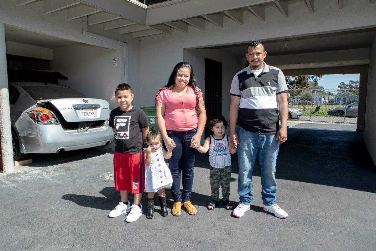 mirian rojas with family