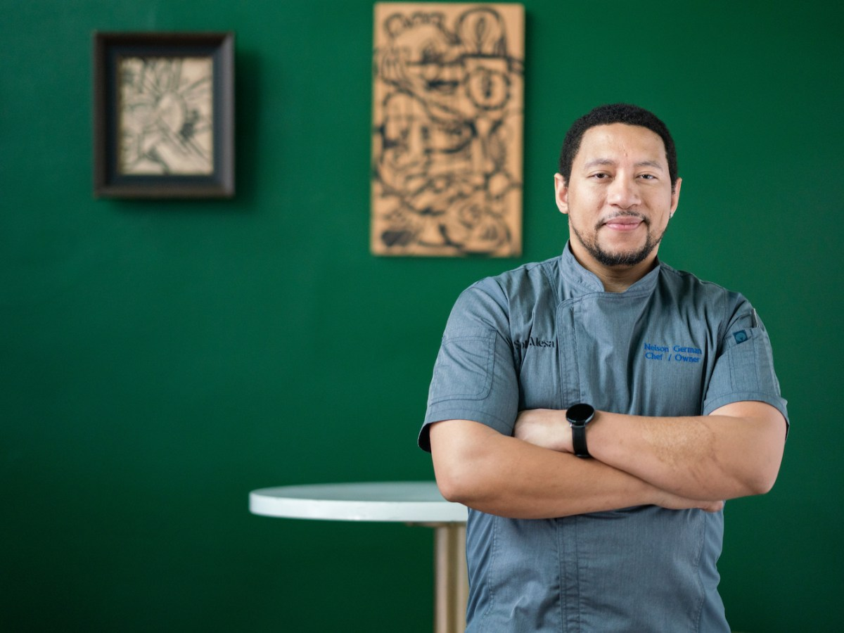 Sobre Mesa chef-owner Nelson German, who also operates alaMar in Oakland. Photo: Thomas Kuoh Photography