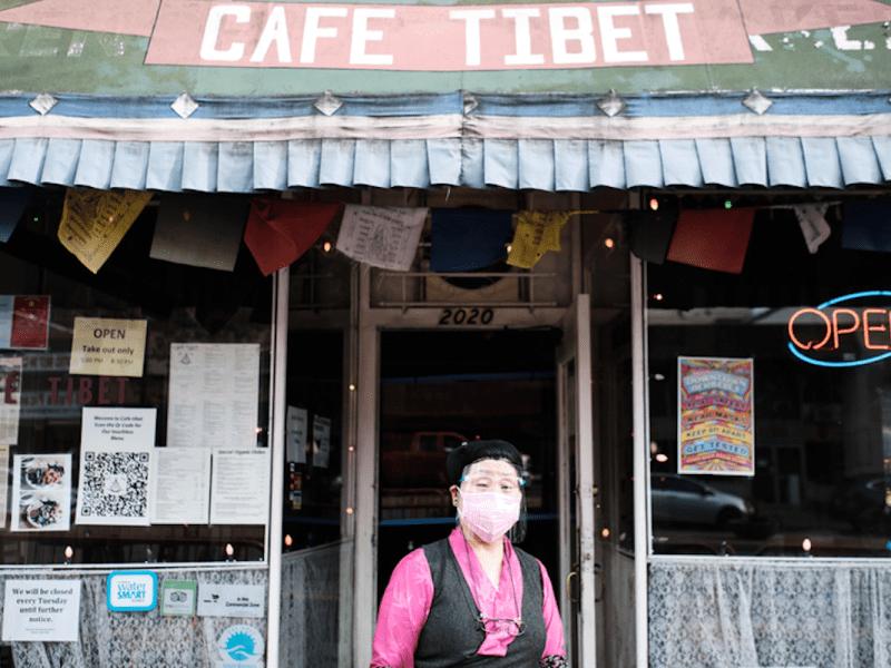 Samten Choedon opened Cafe Tibet, the East Bay's first Tibetan restaurant, in 1999 on University Avenue in Berkeley.