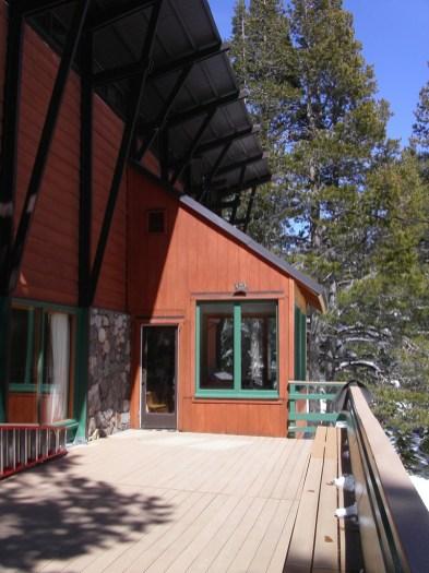 Deck at OSC Donner Lodge