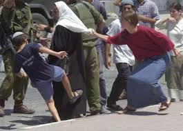 entire Israeli settler families are involved in these racist attacks
