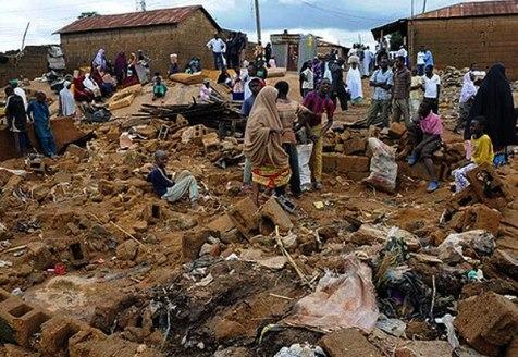 Devastation in Baga after Boko Haram attack
