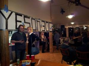 Residents of Lafayette, CO, celebrating election victory of ballot initiative banning fracking in their community. They are the ones who did this, not F&WW or any other Big Green group.