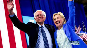 "Sanders formally endorses Clinton: ""I have come here to make it as clear as possible as to why I am endorsing Hillary Clinton and why she must become our next president. This campaign is about the needs of the American people and addressing the very serious crises that we face. And there is no doubt in my mind that, as we head into November, Hillary Clinton is far and away the best candidate to do that."""