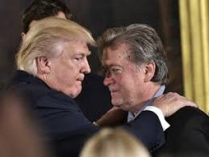 Trump & Bannon. Who is really running the show here?