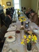 Maundy Thursday mealtime worship