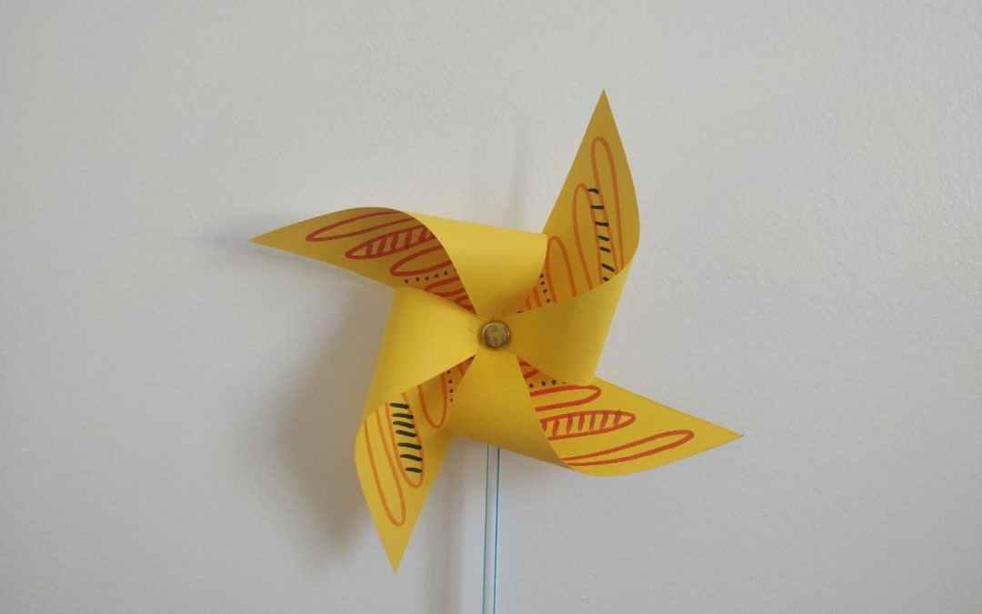 Arts & Crafts: Paper Pinwheels