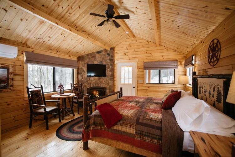 Fireplace & Smart TV