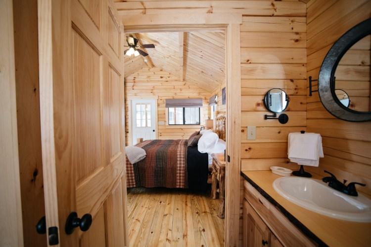 Cabin #2 Bathroom Entrance
