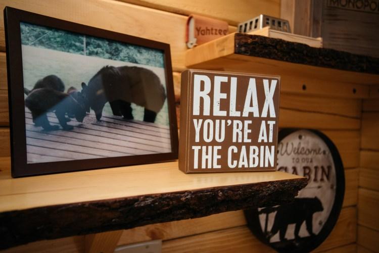 Cabin #2 Decor